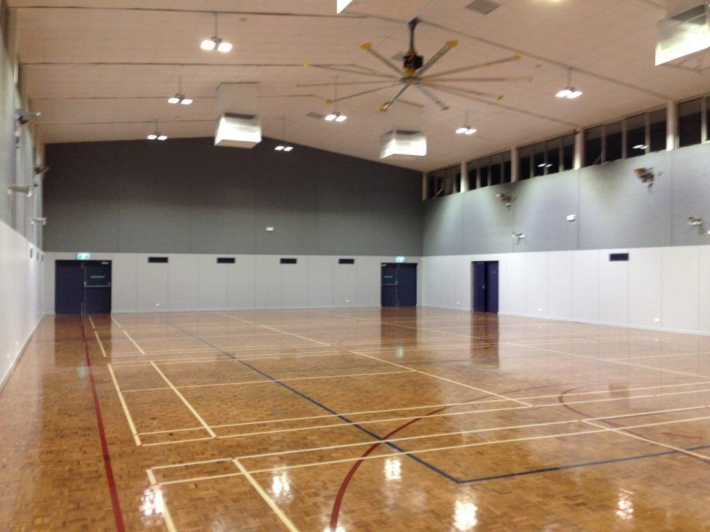 Jim Satchell Badminton Courts