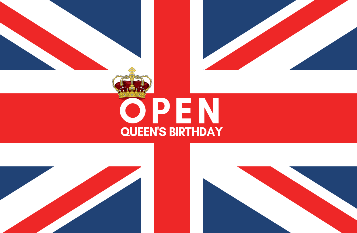 Open Queen's Birthday public holiday