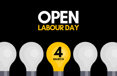 Open Labour Day - March 4