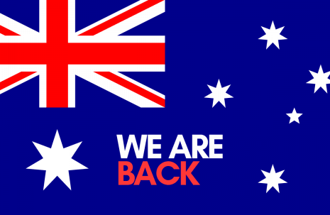 We Are Back Australia Day Public Holiday