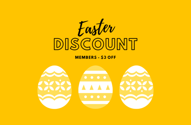 $3 discount for members