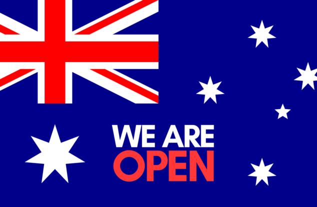 We are open Australia Day
