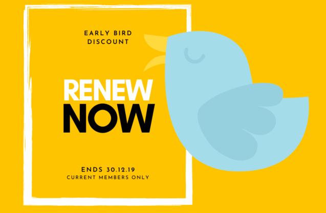 Membership Renewal 2020